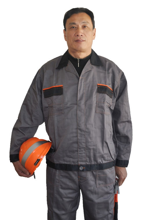 Comfortable Industrial Work Uniforms Wind Resistant With Elasticated Cuffs And Waist