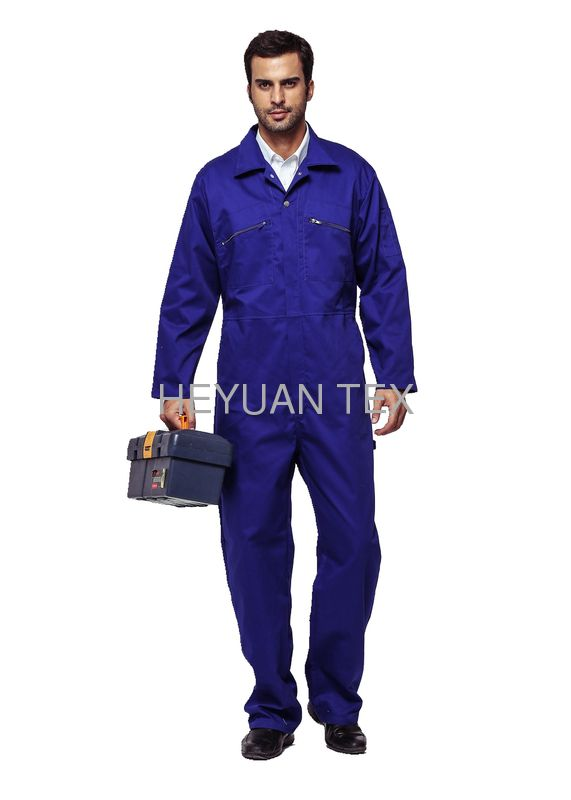 Industrial Heavy Duty Workwear Clothing Safety All In One Overall With Multiple Pockets