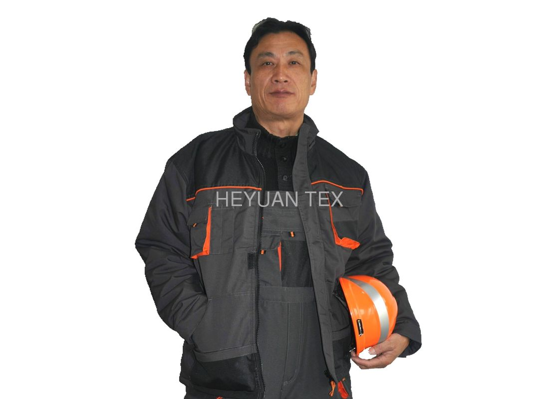 Classic Short Warm Winter Work Wear , Windproof Heavy Duty Winter Work Coats