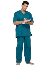Anti Wrinkle  Medical Scrub Suits , Easy Wash Surgical Hospital Nurse Uniform