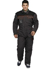 All In One Heavy Duty Winter Work Coveralls With Velcro Adjustment Cuff