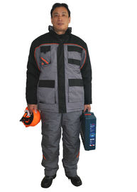 China Anti Tear Durable Winter Work Coveralls Warmth Workwear Jacket And Bib Pants factory