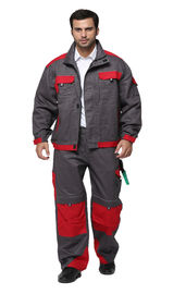 China Fashion Industrial Work Uniforms / Safety Work Clothes With Multi Storage Pockets factory