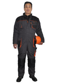 Industrial Safety Winter Work Clothes Outdoor / Waterproof Winter Overalls