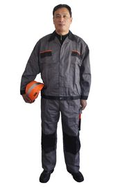 China Comfortable Industrial Work Uniforms Wind Resistant With Elasticated Cuffs And Waist factory